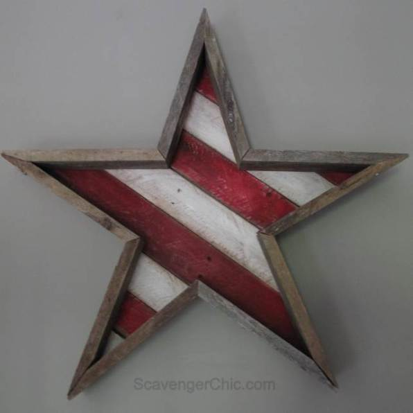 reclaimed-wood-star-red-white-blue