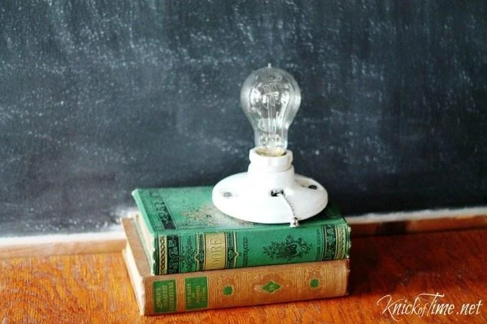 repurposed books light 1