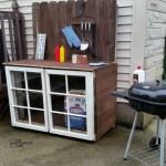 DIY Outdoor Buffet