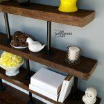 DIY Industrial Shelf