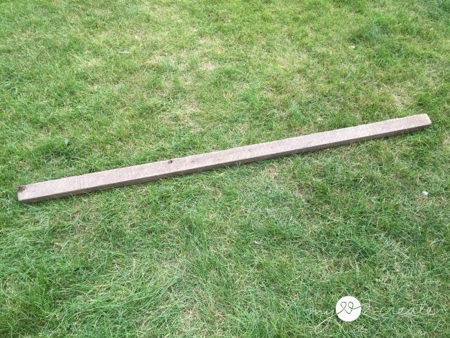 rustic scrap wood