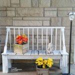 Crib Garden Bench