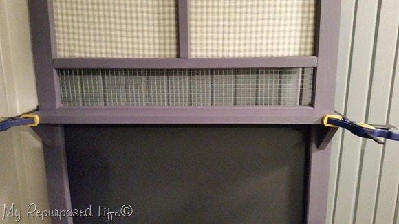 clamped-shelf