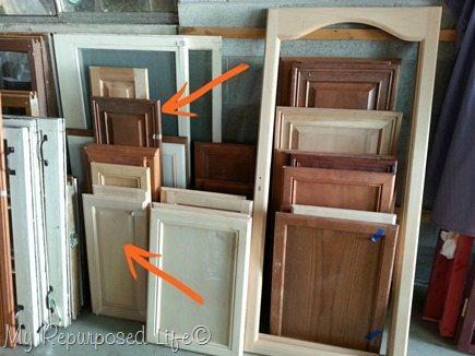 Easy Cabinet Door Projects My Repurposed Life