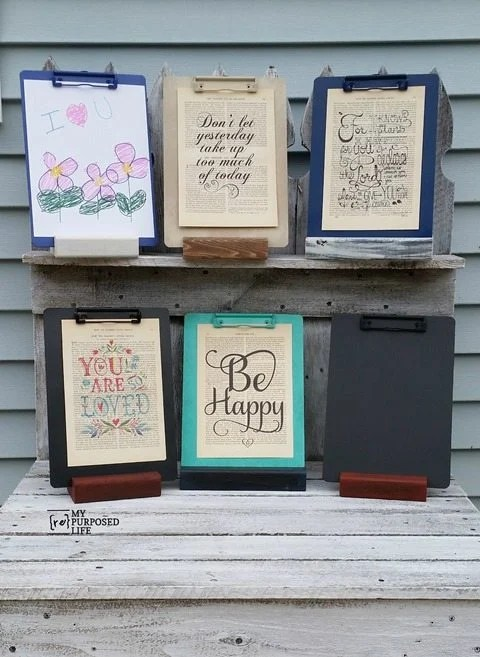 my-repurposed-life-assorted-clipboard-stands-artwork