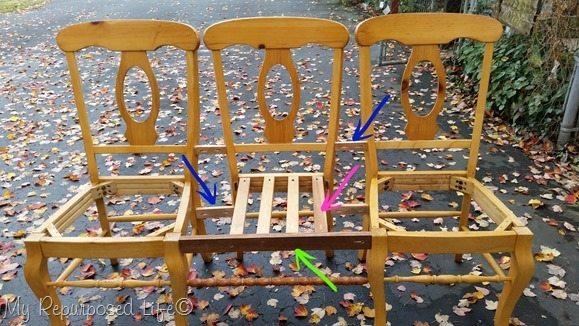 make-triple-chair-bench-sturdy-arrows