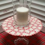 Peppermint Platter | Easy Christmas Project