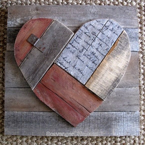 Pallet-Wood-Valentines-Heart-diy