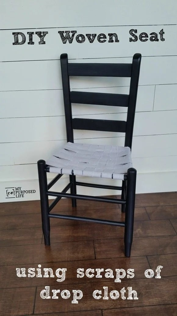 Strange Easy Weave Chair Seat My Repurposed Life Rescue Re Gmtry Best Dining Table And Chair Ideas Images Gmtryco
