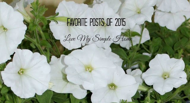 2015 posts from love my simple home