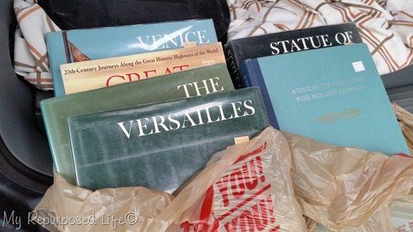 vintage coffee table books