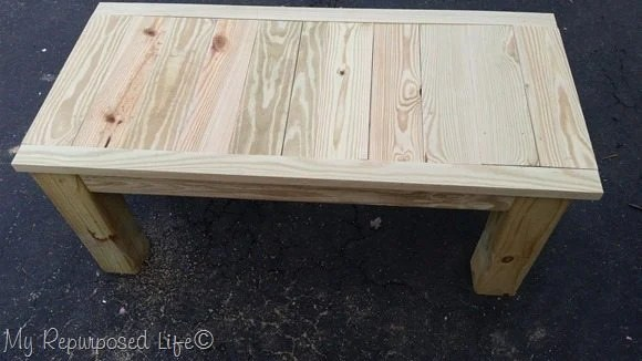 dry fit coffee table top