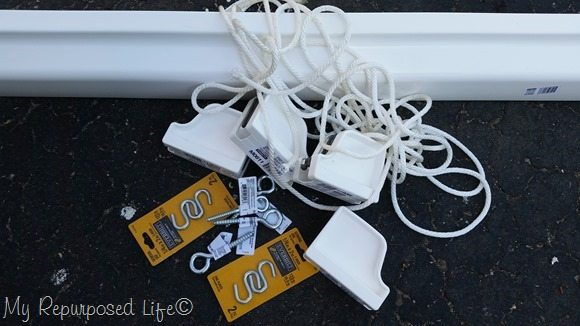 supplies for hanging gutter planters