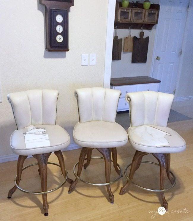 bar stools before