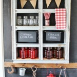 Repurposed Metal Pallet Wall Shelf