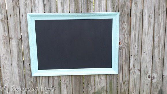 large artwork chalkboard