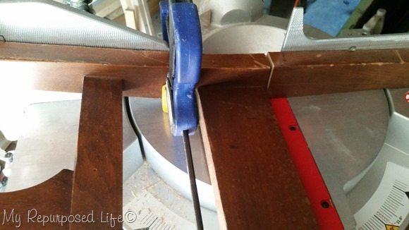 cut chair parts