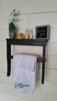 Chair Seat Wall Shelf - My Repurposed Life