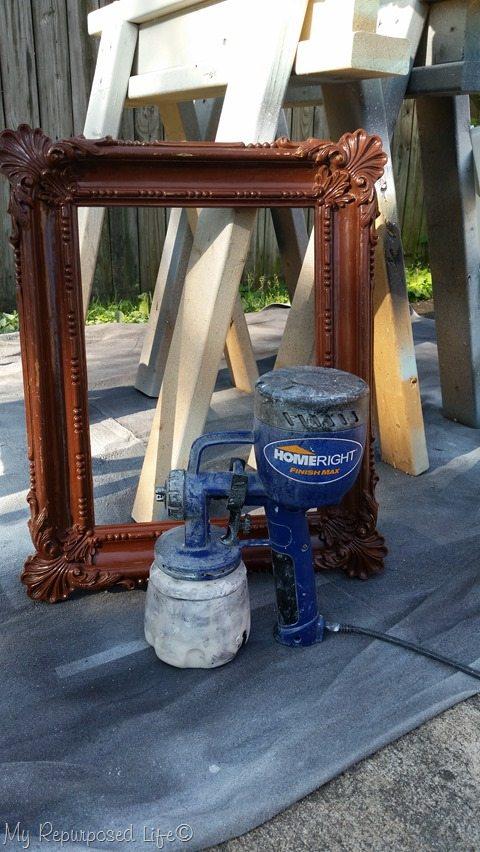 homeright finish max paints cheap plastic frame