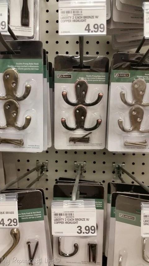 store bought hooks