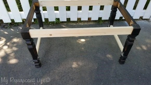 coffee table extra seating bench