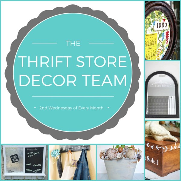thrift store decor challenge projects
