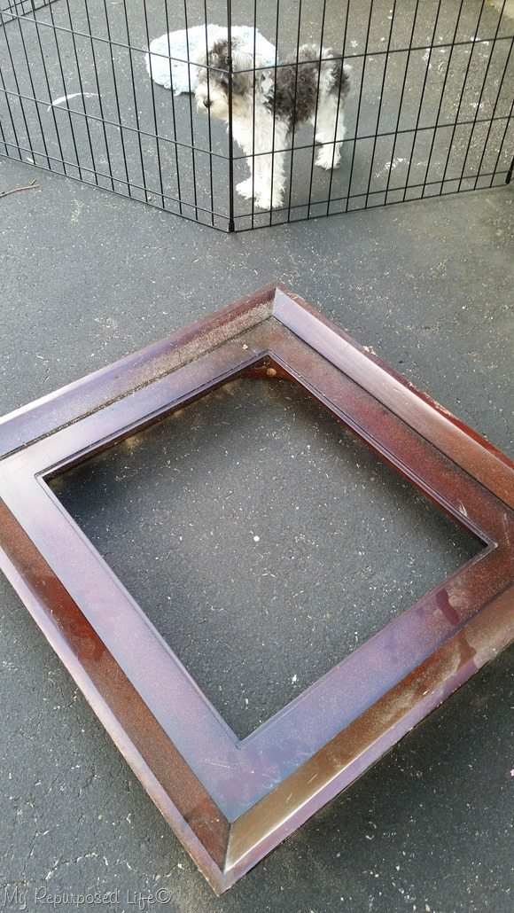 broken table top