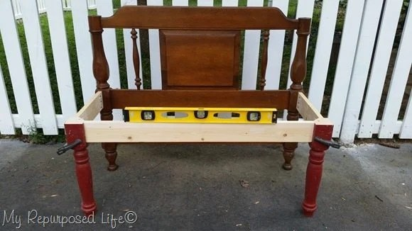 build a simple headboard bench