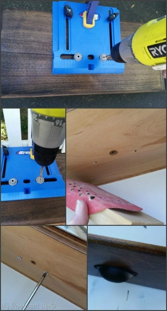 how to use kreg hardware jig for drawer pulls