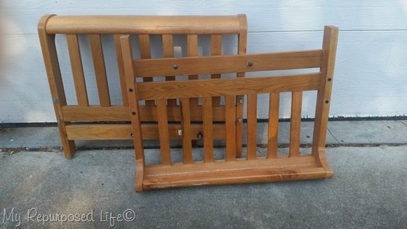 thrift store bed frames