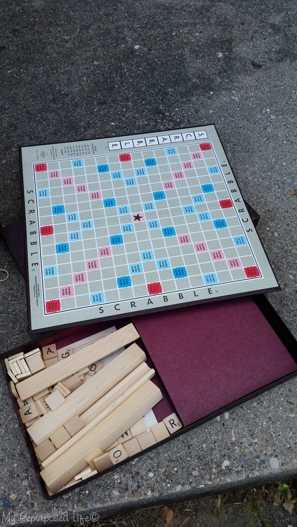 thrift store scrabble game