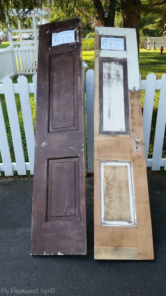 2 half doors