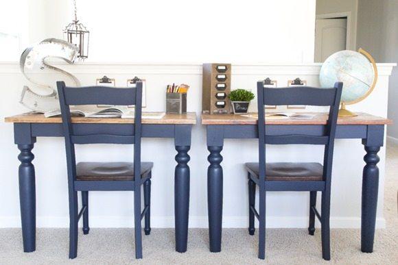 Repurposed-Kitchen-Table-Desks-Fusion-Midnight-Blue-1-of-3