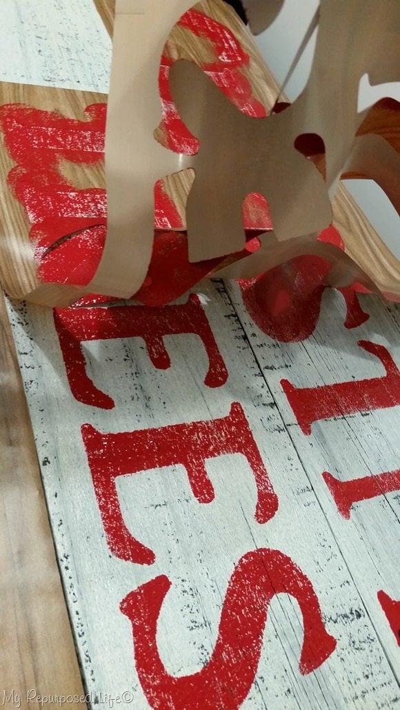 remove stencil