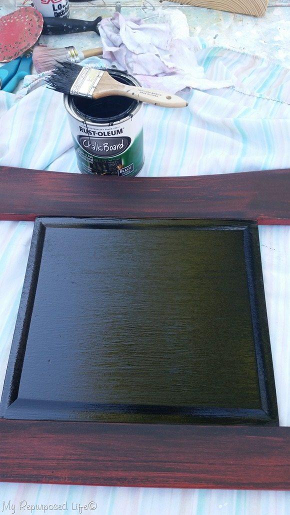 rustoleum chalkboard paint