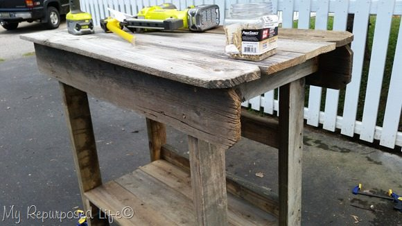 upper portion outdoor bar