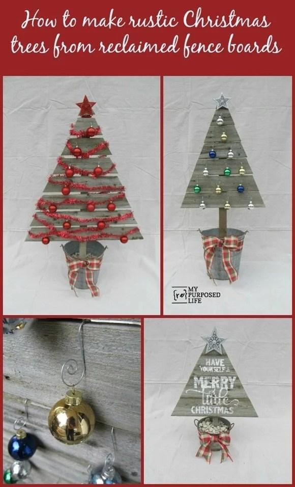 MyRepurposedLife-how-to-Rustic-Christmas-Trees