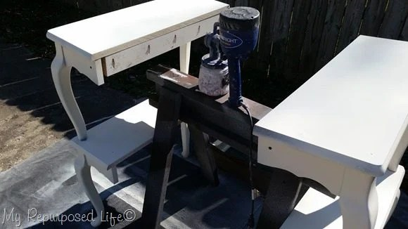second coat queen anne table shelves