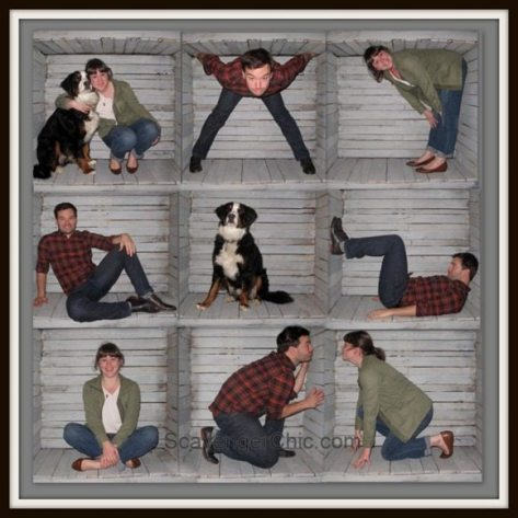 Pallet-Wood-Family-Photo-Box