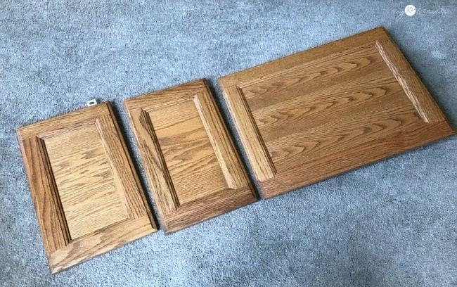 cabinet doors before