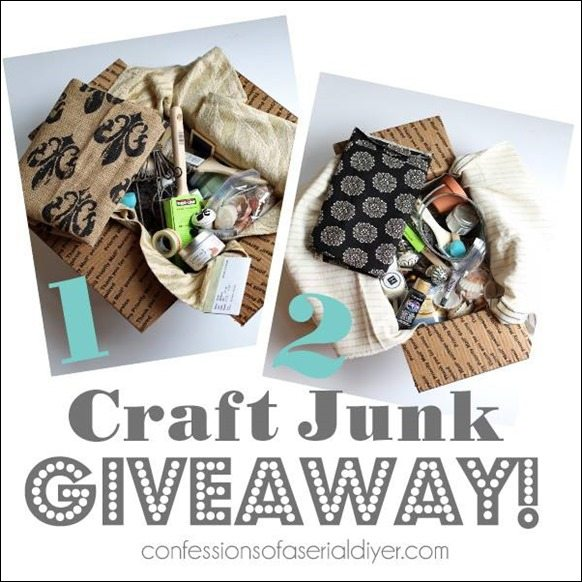 confessions of a serial diyer craft giveaway