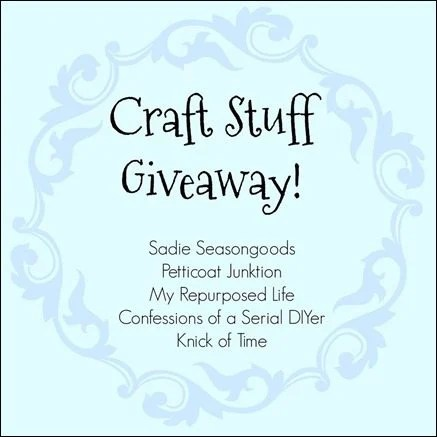 craft stuff giveaway 5 bloggers
