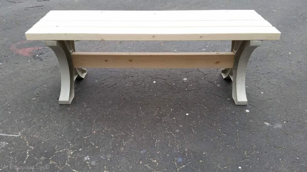 2x4 hopkins table bench