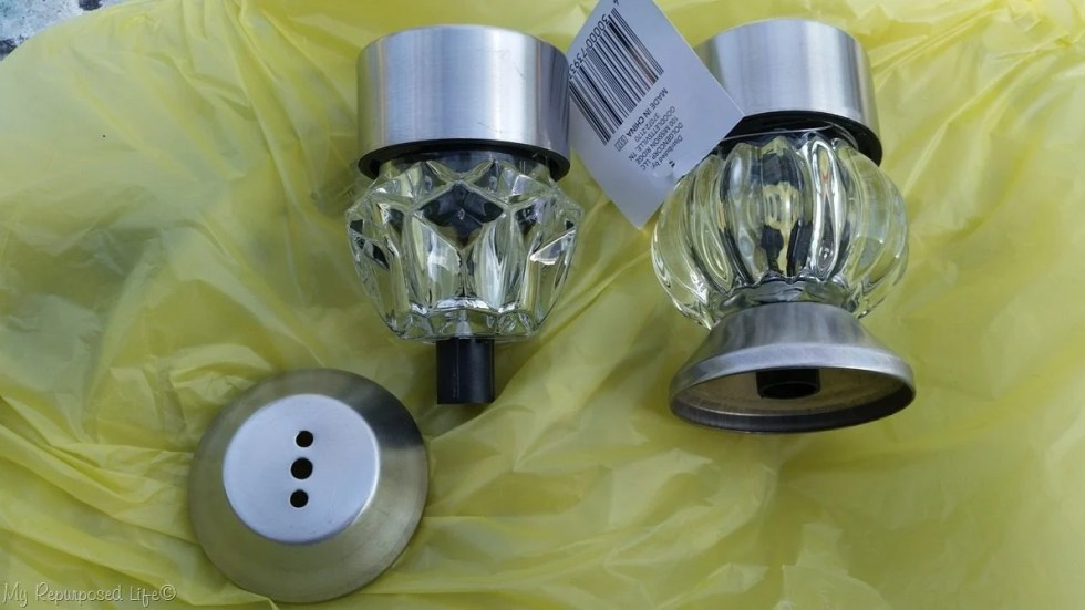 retro-fit solar lights