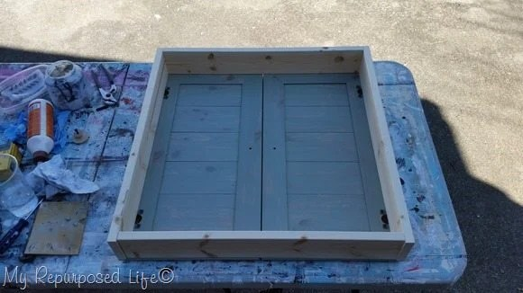 simple box for shutter cabinet