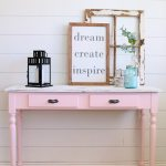 Pretty in Pink | Table Makeover