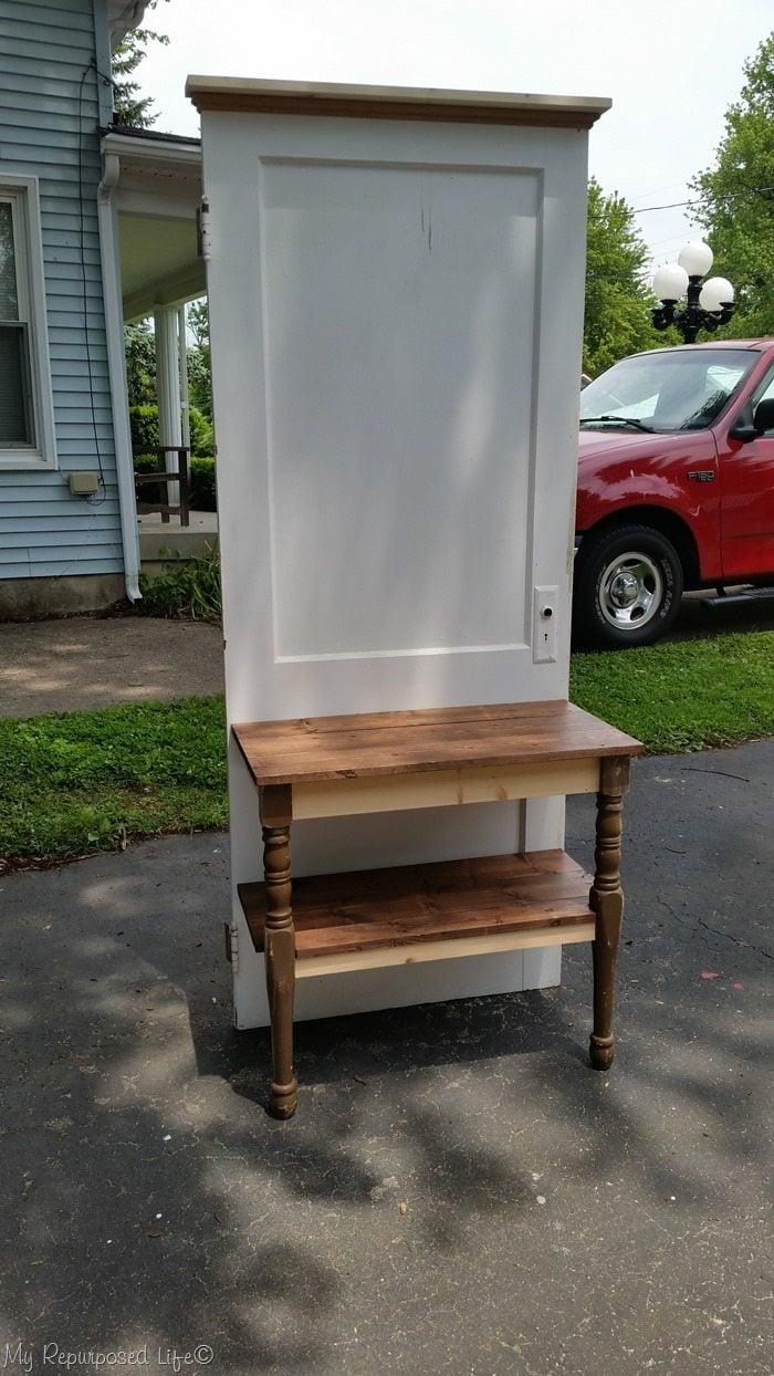 diy door entryway table
