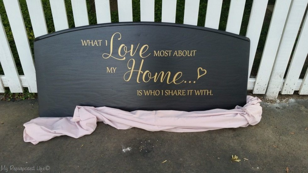What I love Most About large headboard sign