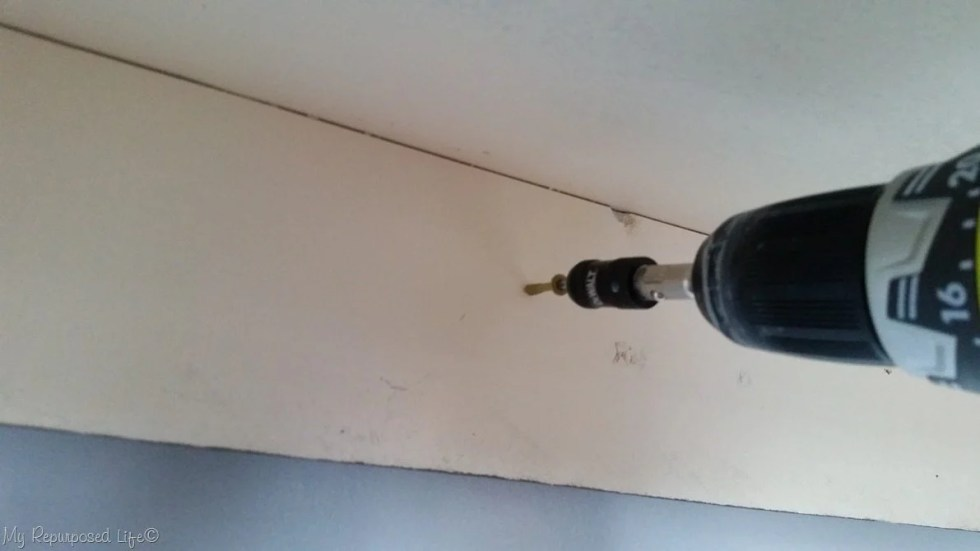 attach table cleat to wall