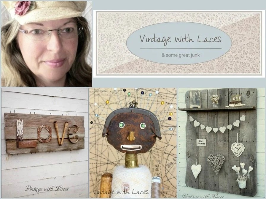 featured blogger vintage with laces